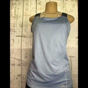 Champion grey tank top with thick straps size med